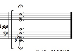 "The ""structurally significant"" chord."