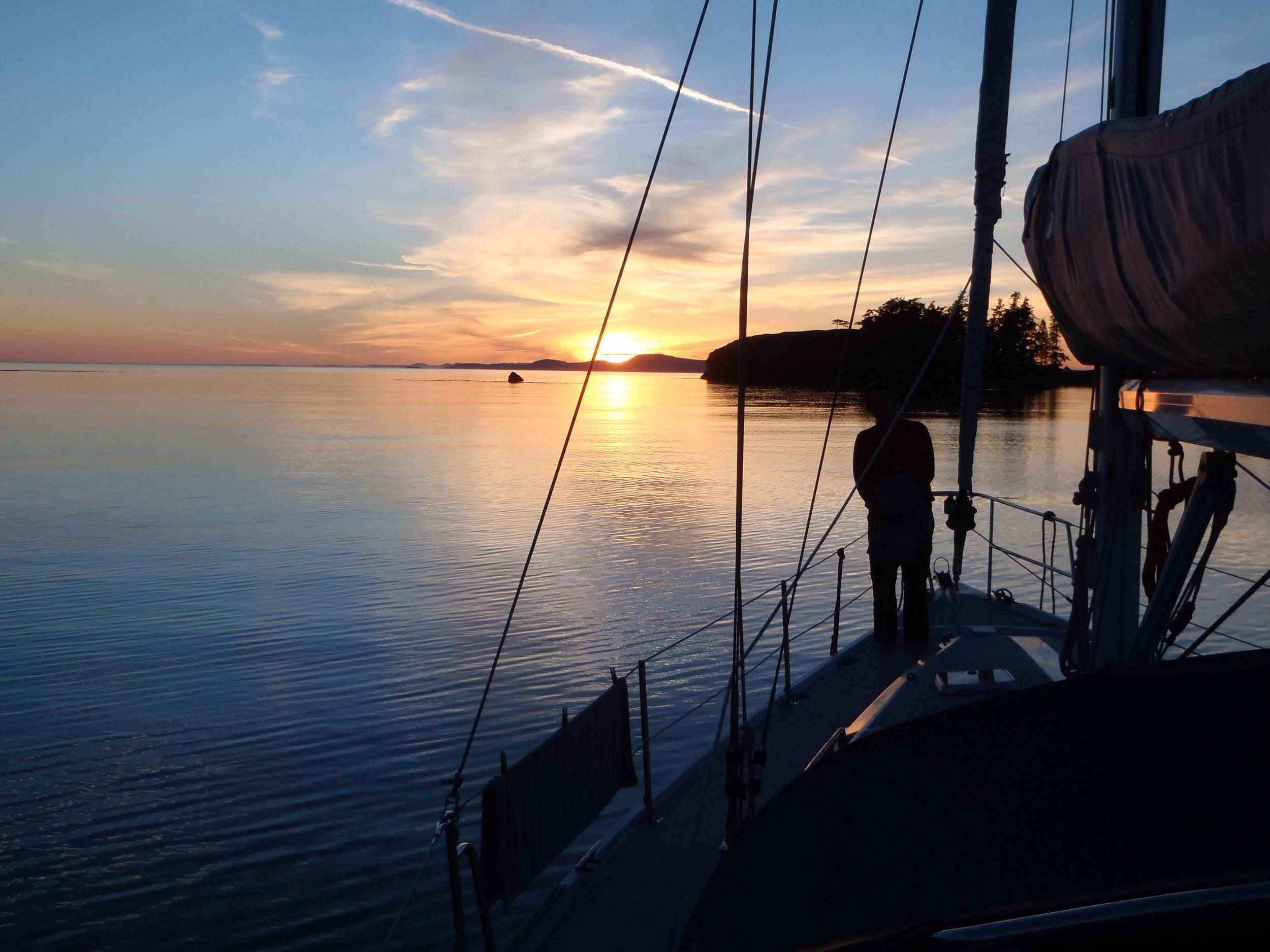 Sunset, Bowman Bay