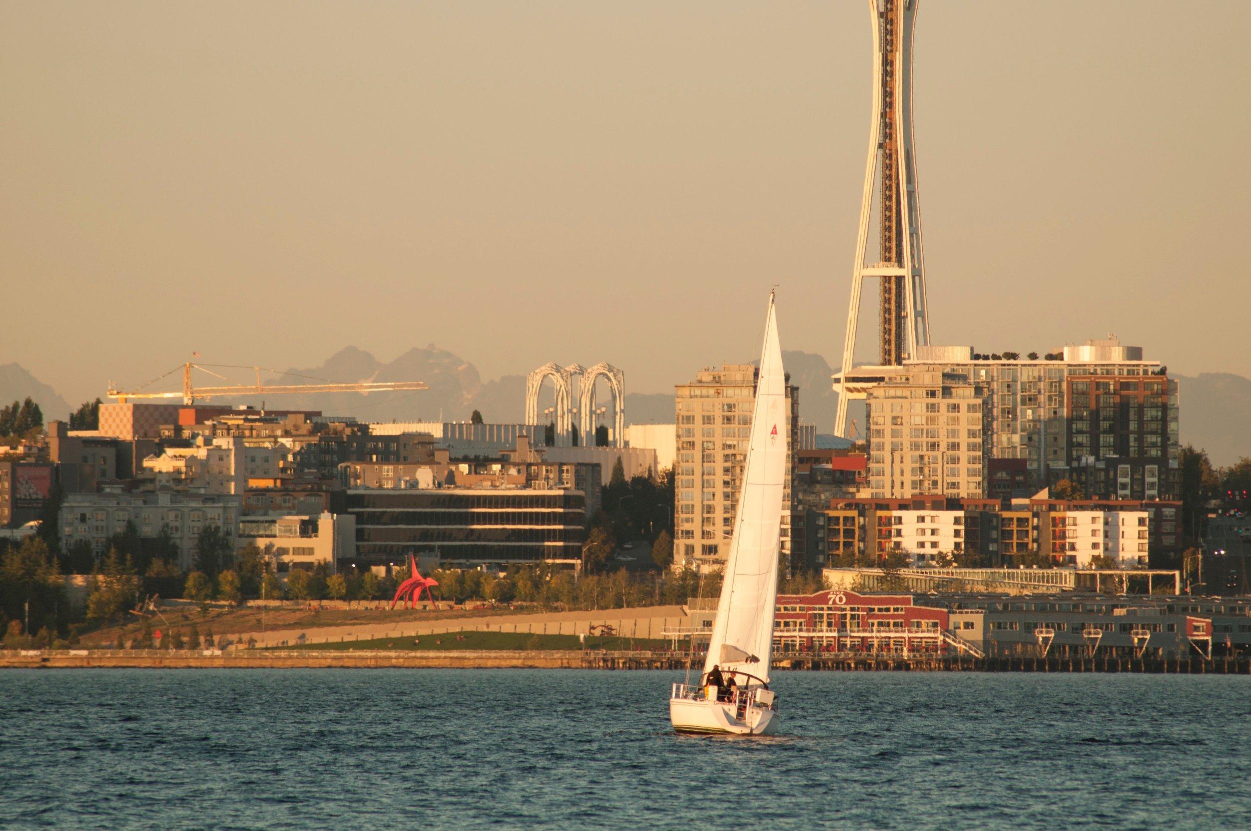 UPBEAT sailing on Elliott Bay