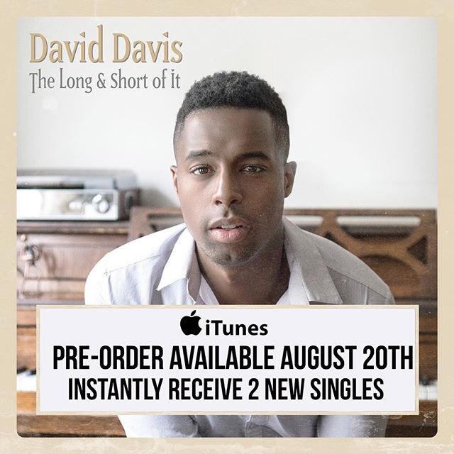 """Pre-orders for """"The Long & Short of It"""" begin 8.20. Comment below which songs you think you are coming. 🗣🗣🗣"""