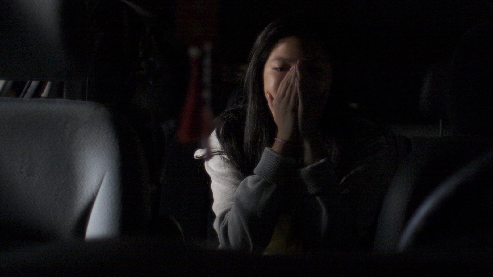 Krystal Yam as Sarah Lee.   CLICK  for trailer.