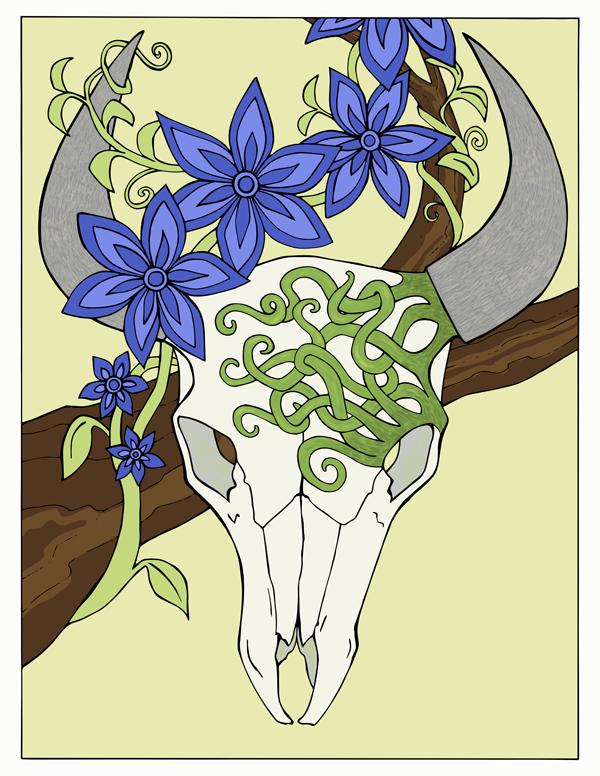 color Bison skull thumbnail.png