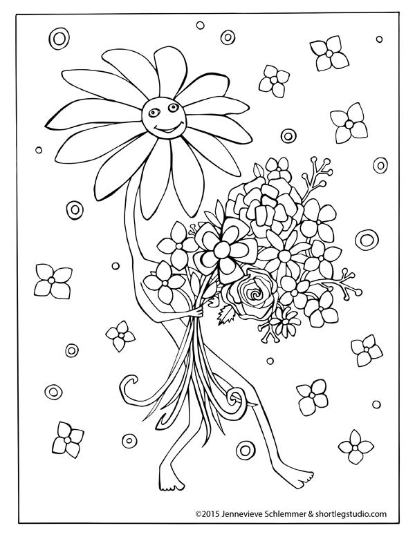 Flowers Thankful