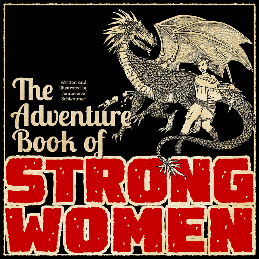 Adventure Book of Strong Women