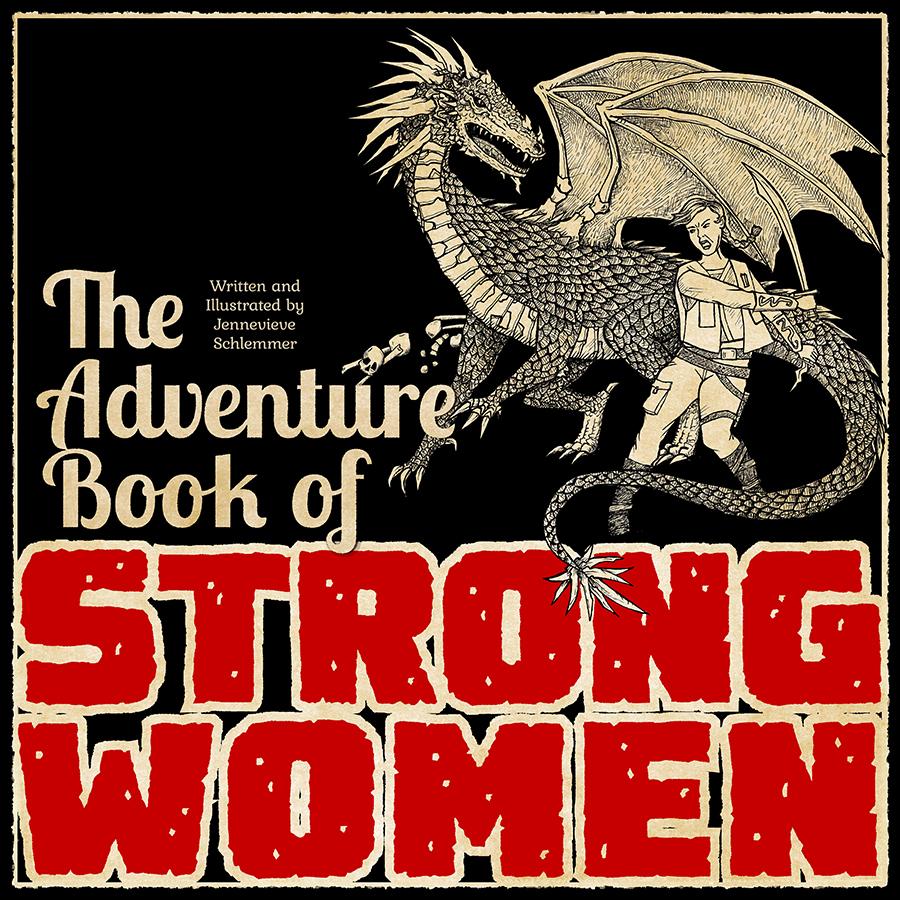 Adventure Book of Strong Women