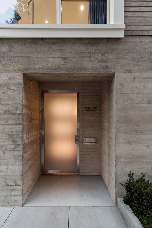 Custom fabrication Front Glass Door
