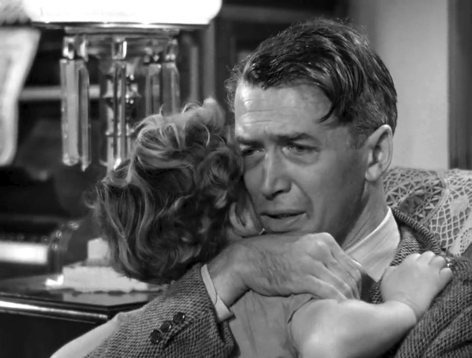 George Bailey at the bottom. Source: Liberty Films.
