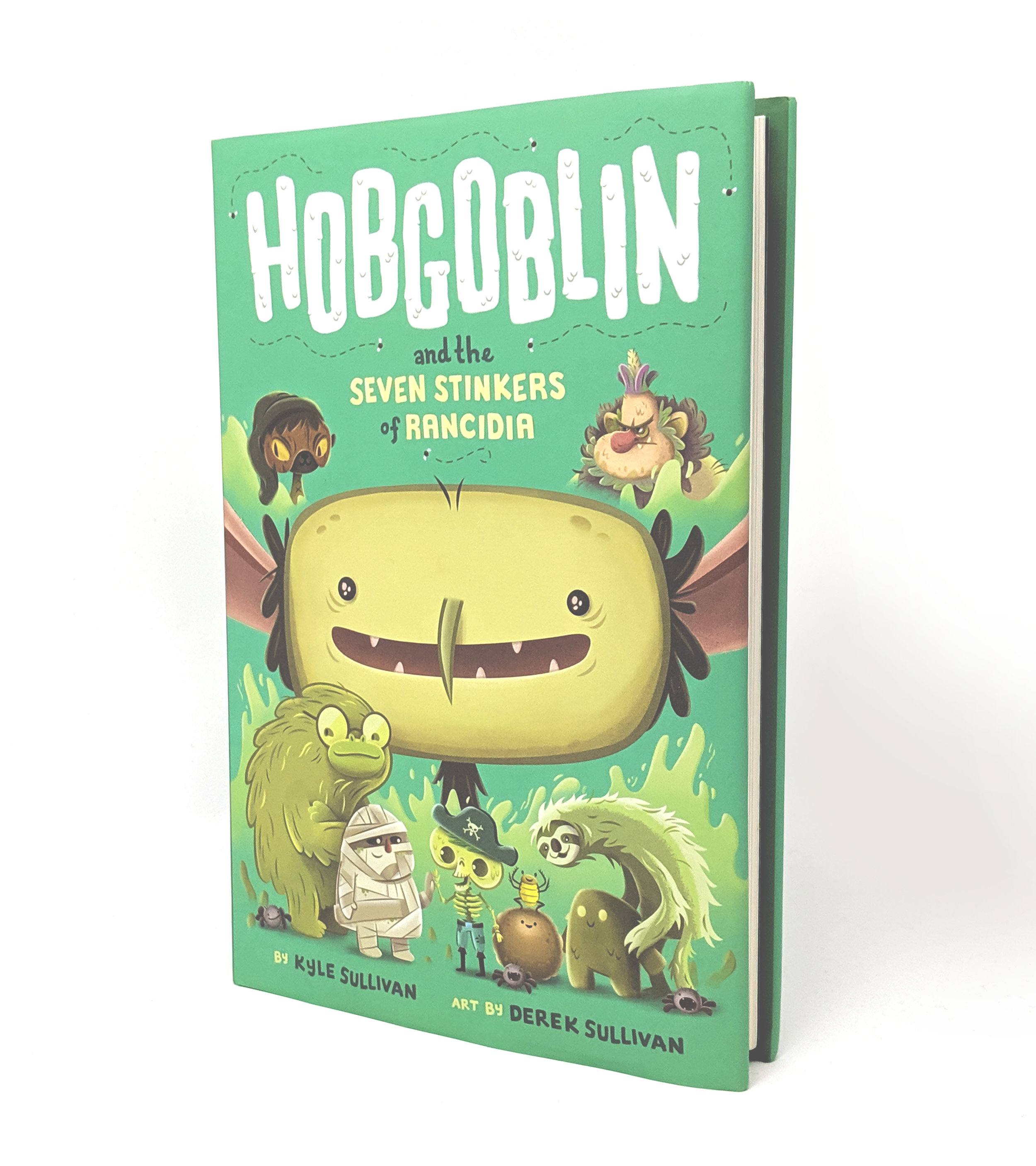 Cover art:  Hobgoblin and the Seven Stinkers of Rancidia.  Hazy Dell Press, 2019.