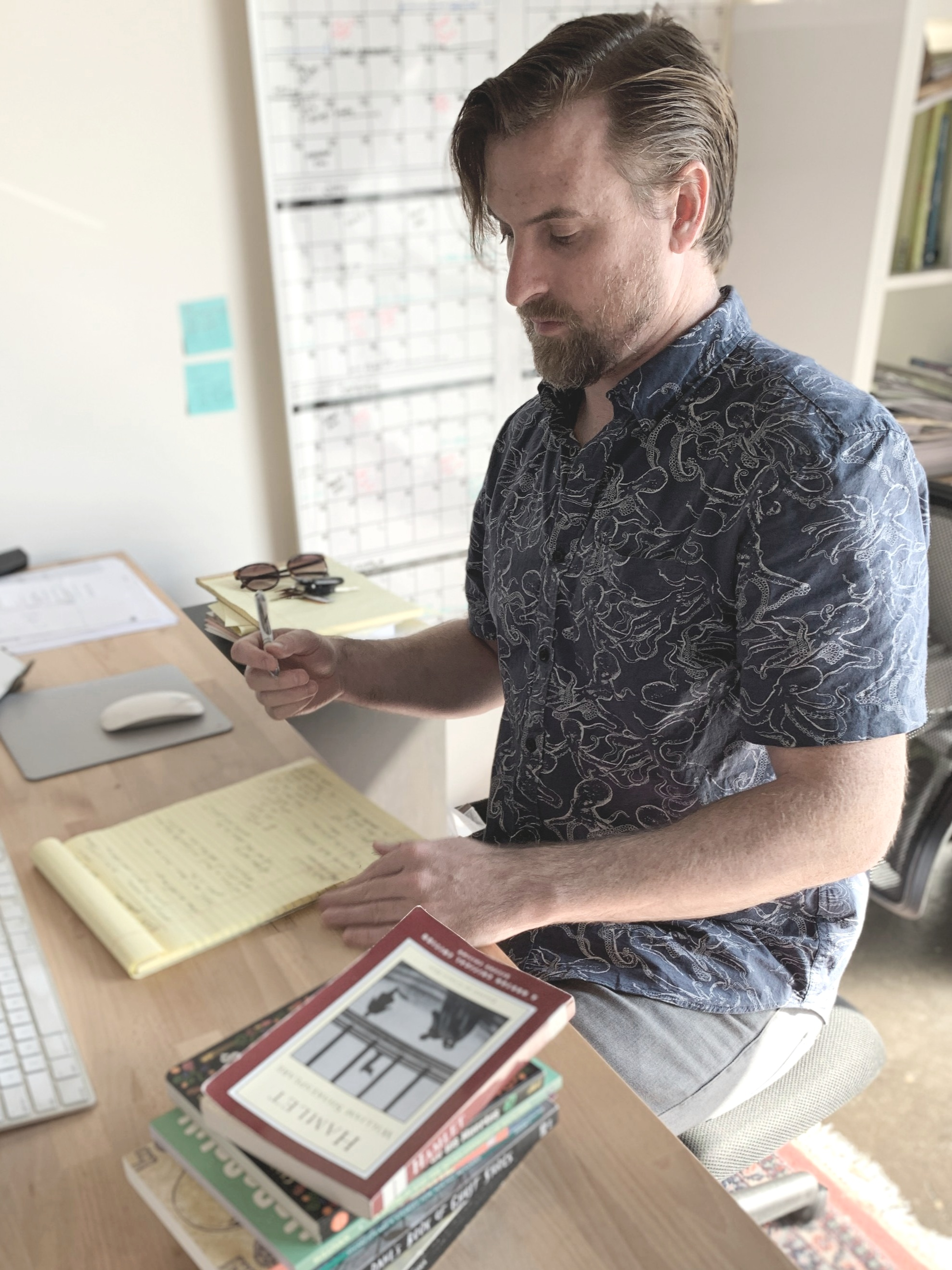 Kyle Sullivan, author of  Hobgoblin and the Seven Stinkers of Rancidia . Hazy Dell Press, 2019.