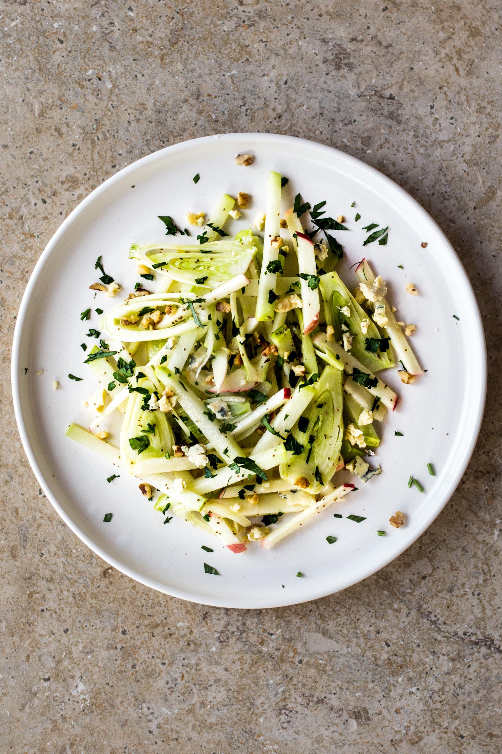 Apple, Fennel & Kohlrabi Salad