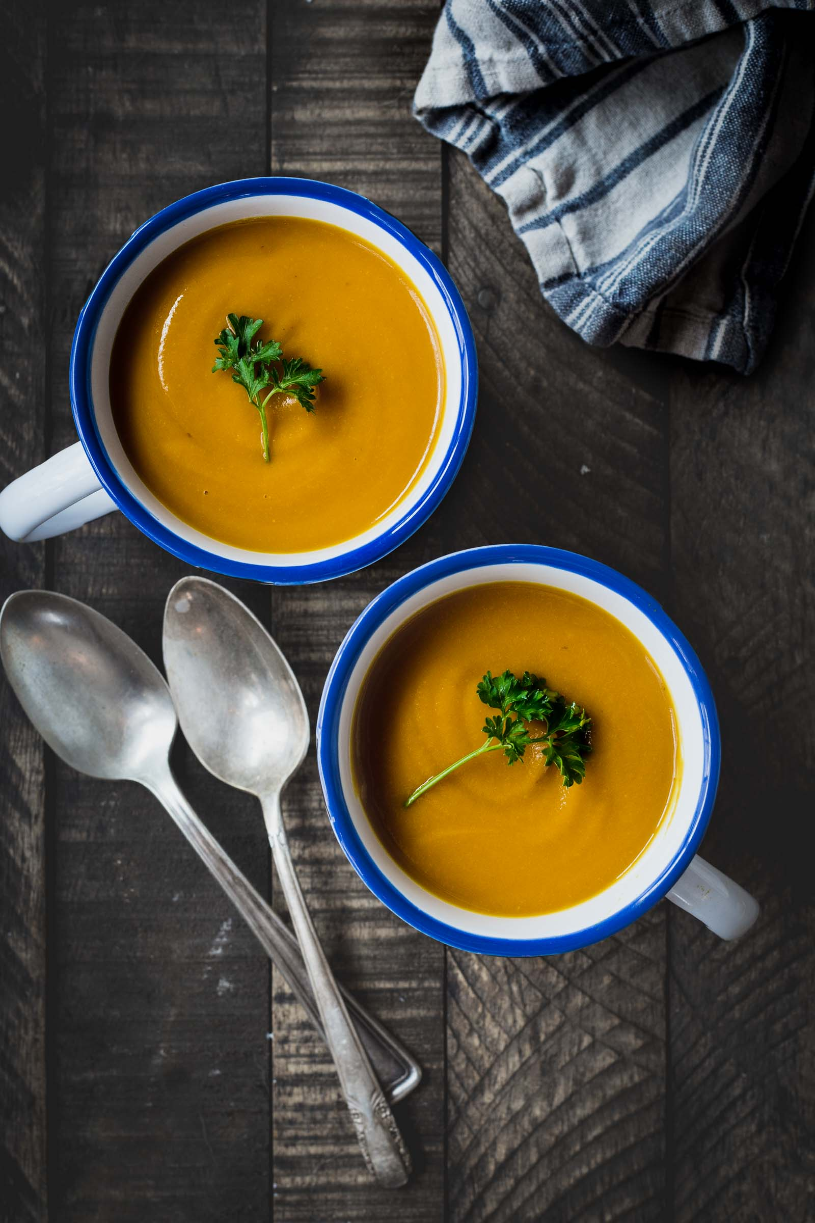 Winter Squash Miso Soup   (use the sweet potato squash for this)