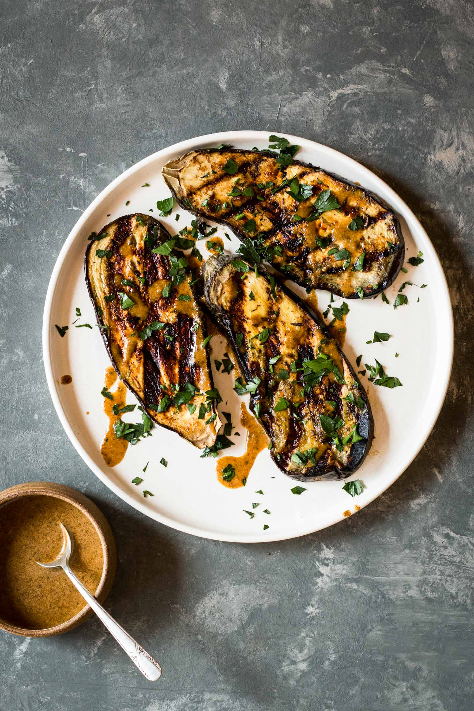 Jamaican Jerk Eggplant Steaks