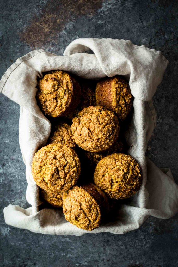 Maple Pumpkin Bran Muffin  s (use the kabocha squash here)