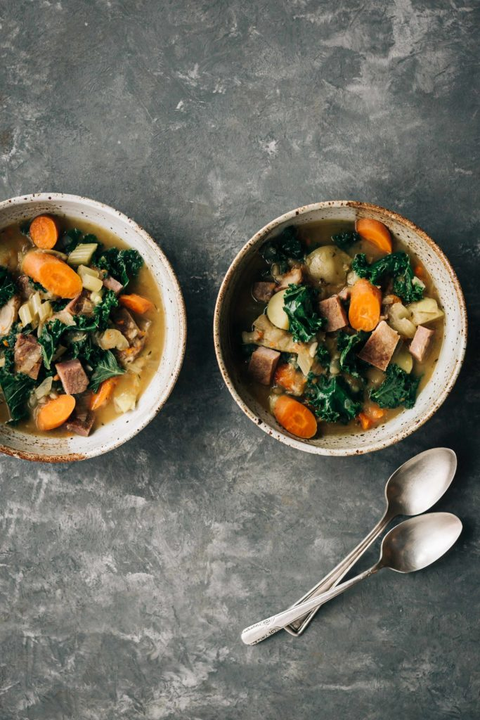 Hearty Vegetable and Ham Stew