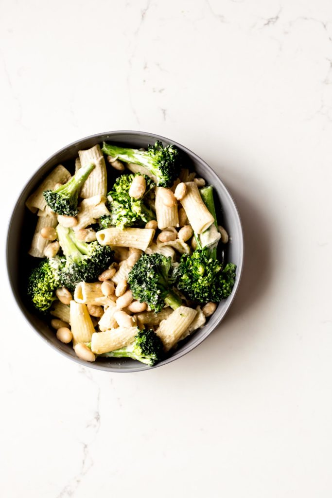 Broccoli & White Bean Pasta