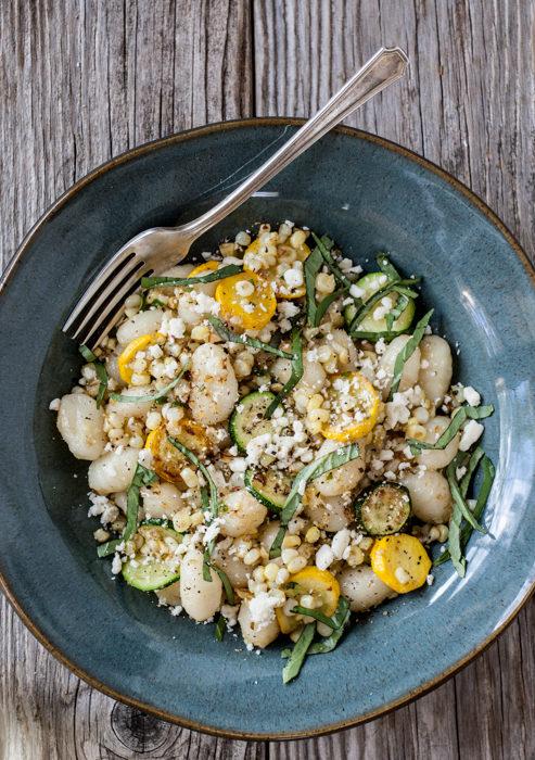 Sweet Corn and Summer Squash Gnocchi