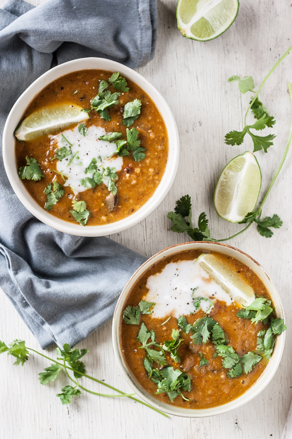 Curried Eggplant & Chickpea Stew
