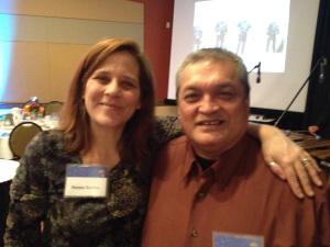 Renee Gorkin and Moses San Nicholas