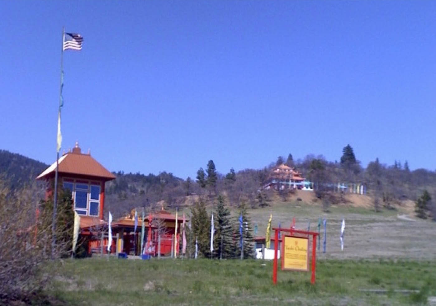 Tibetan Temple in Hilt, California