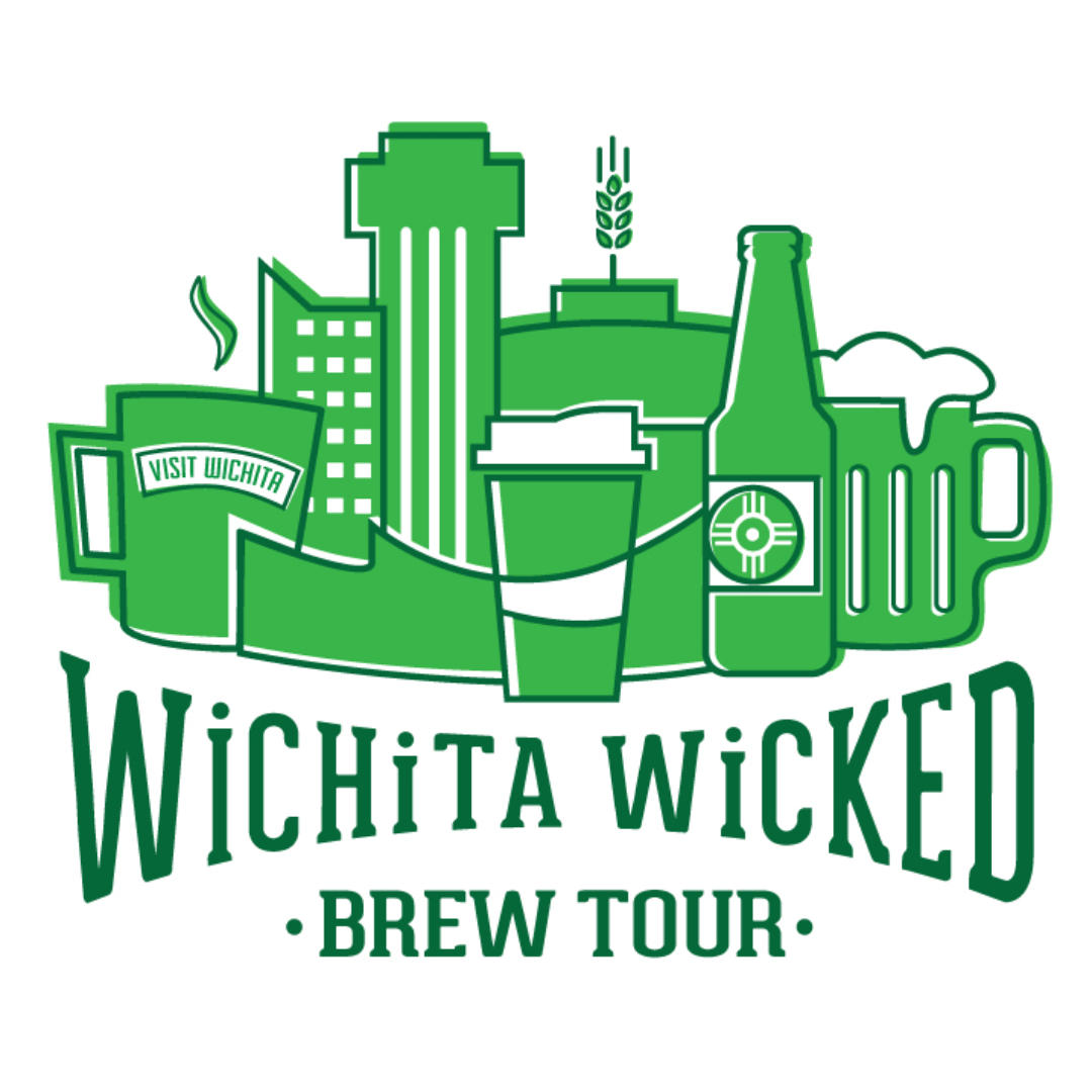 """Wichita Wicked Brew Tour"" Lupoli Collective, 2017, digital - Visit Wichita"