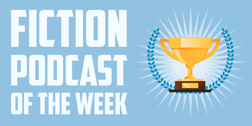 THE LIFT WINS FICTION PODCAST OF THE WEEK    The Podcast Host  awards  Dan Foytik  podcast   The Lift   featuring our theme and score  Podcast of the week.