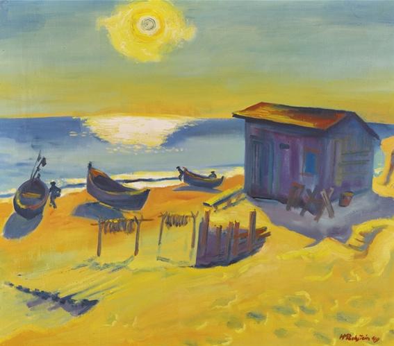 """Max Pechstein, """"Die Sonne Kam Wieder (The Sun Came Back)"""