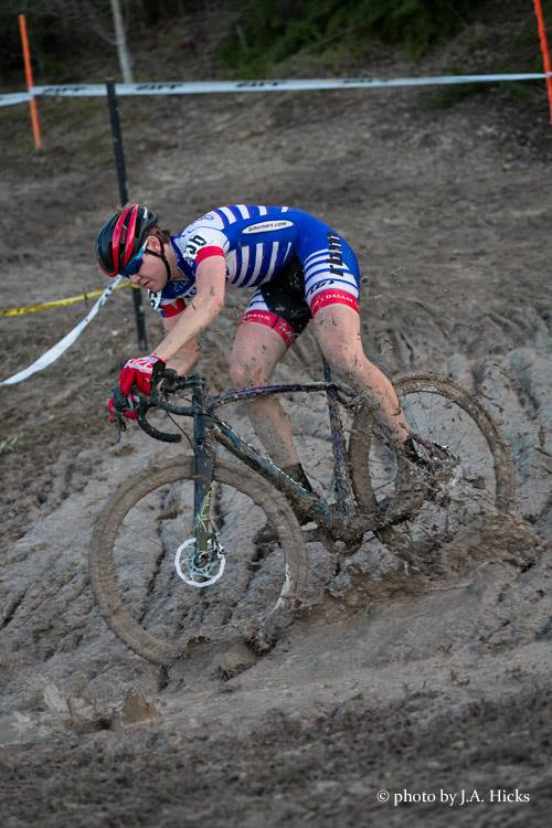 Rob tore it up this weekend and grabbed his first UCI point! Photo by:  J.A. Hicks
