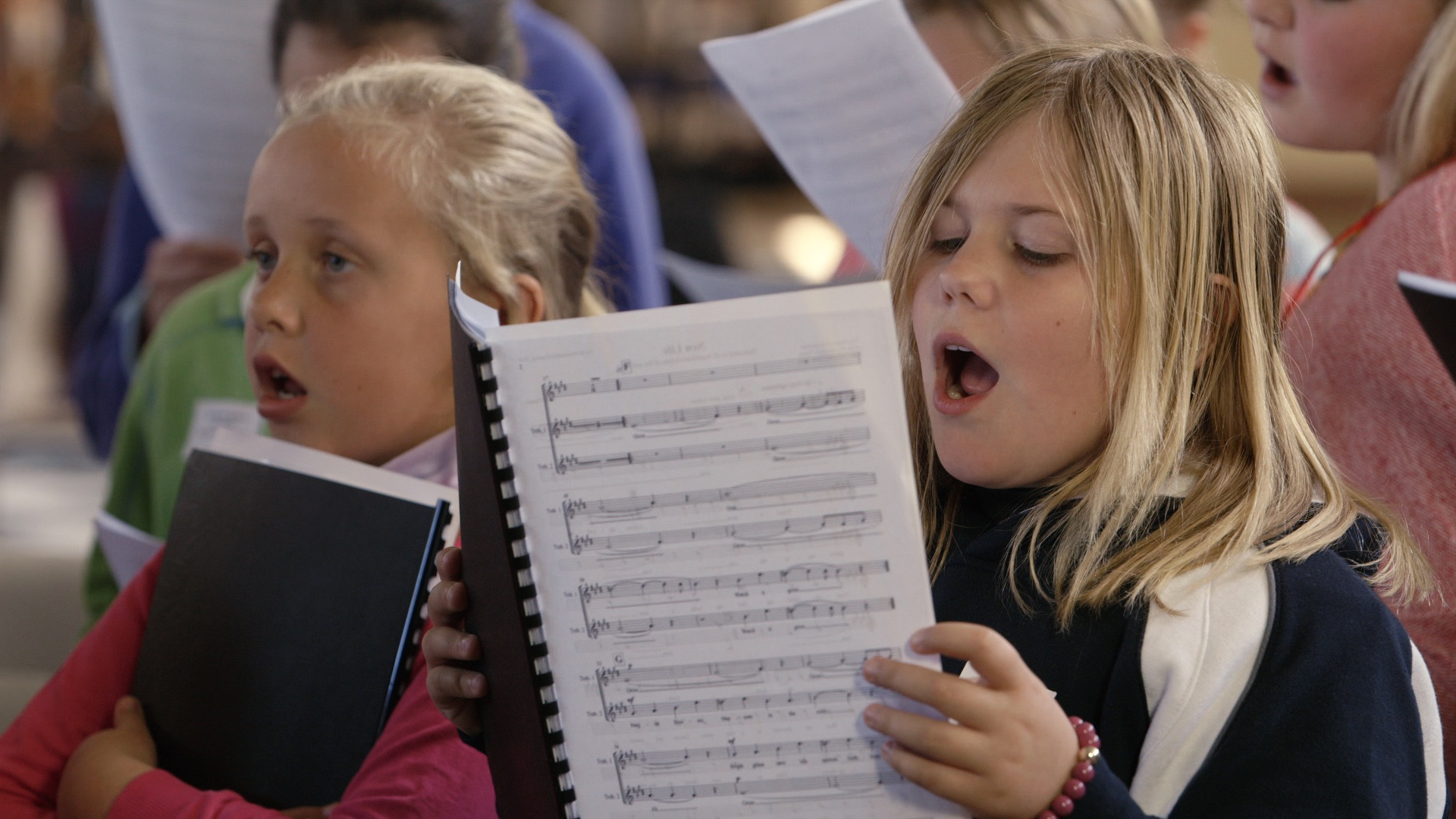 Katelyn singing