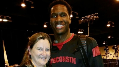 Toni Christy and Nigel Hayes