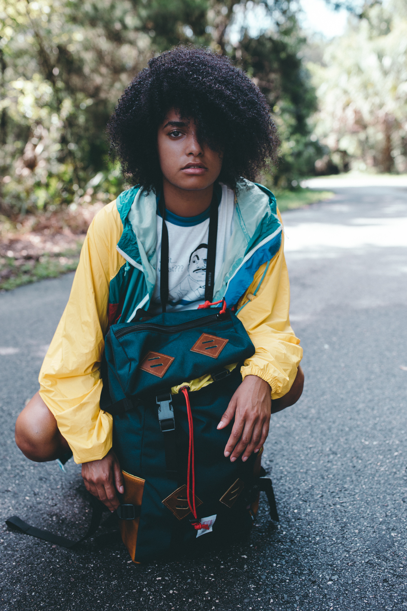 4. The Look - The KLETTERSACK is a perfect mixture between modern design and minimalistic living. The look is sleek, simple and bold. I absolutely love the color combinations in this particular KLETTERSACK and how well the bright yellows and reds compliment the dark blue base of the pack.