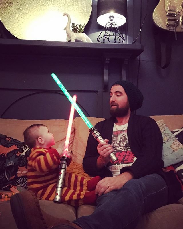 #youngjedi #theforceisstrongwiththisone