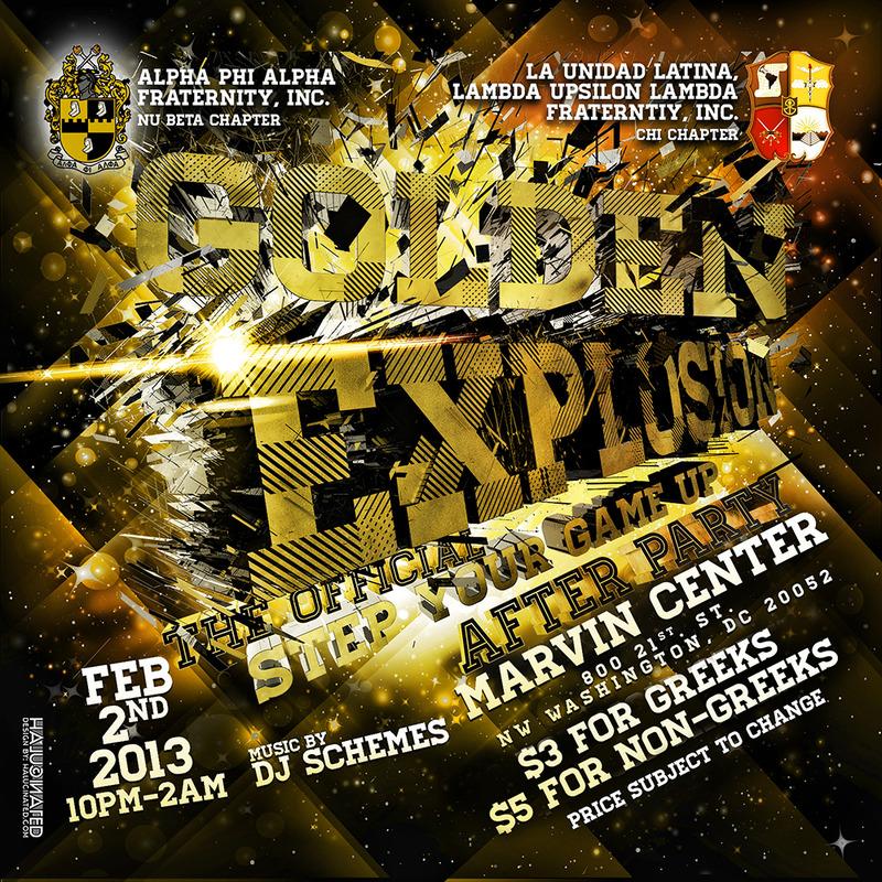 #GoldenExplosion