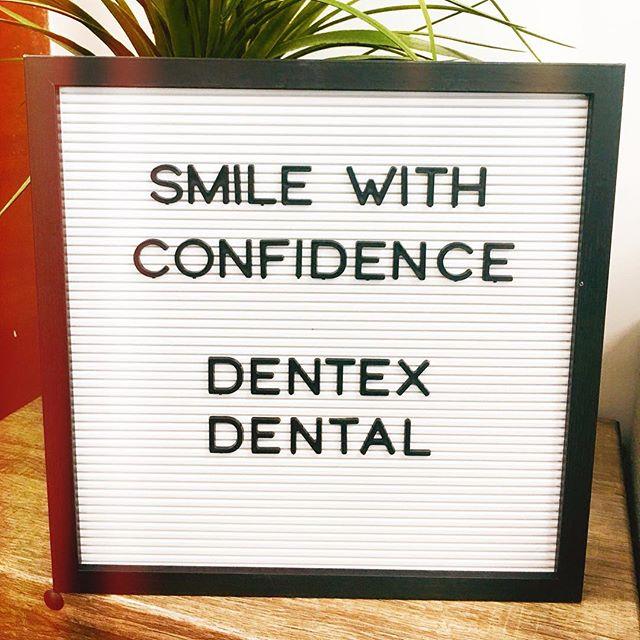 Smile like you mean it! 😄 #dentexdental