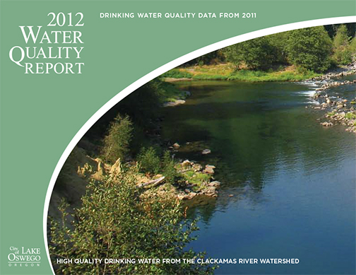 2012 Water Quality Report for City of Lake Oswego, Oregon
