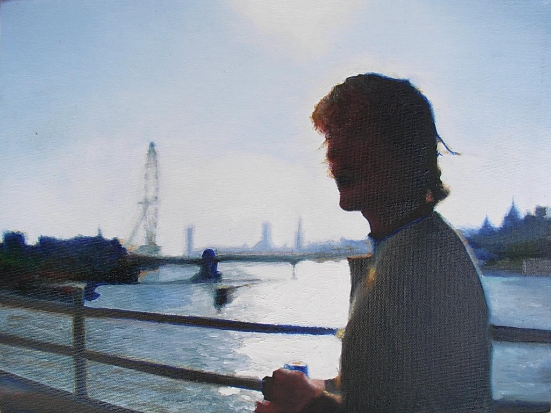 Marty on London Bridge