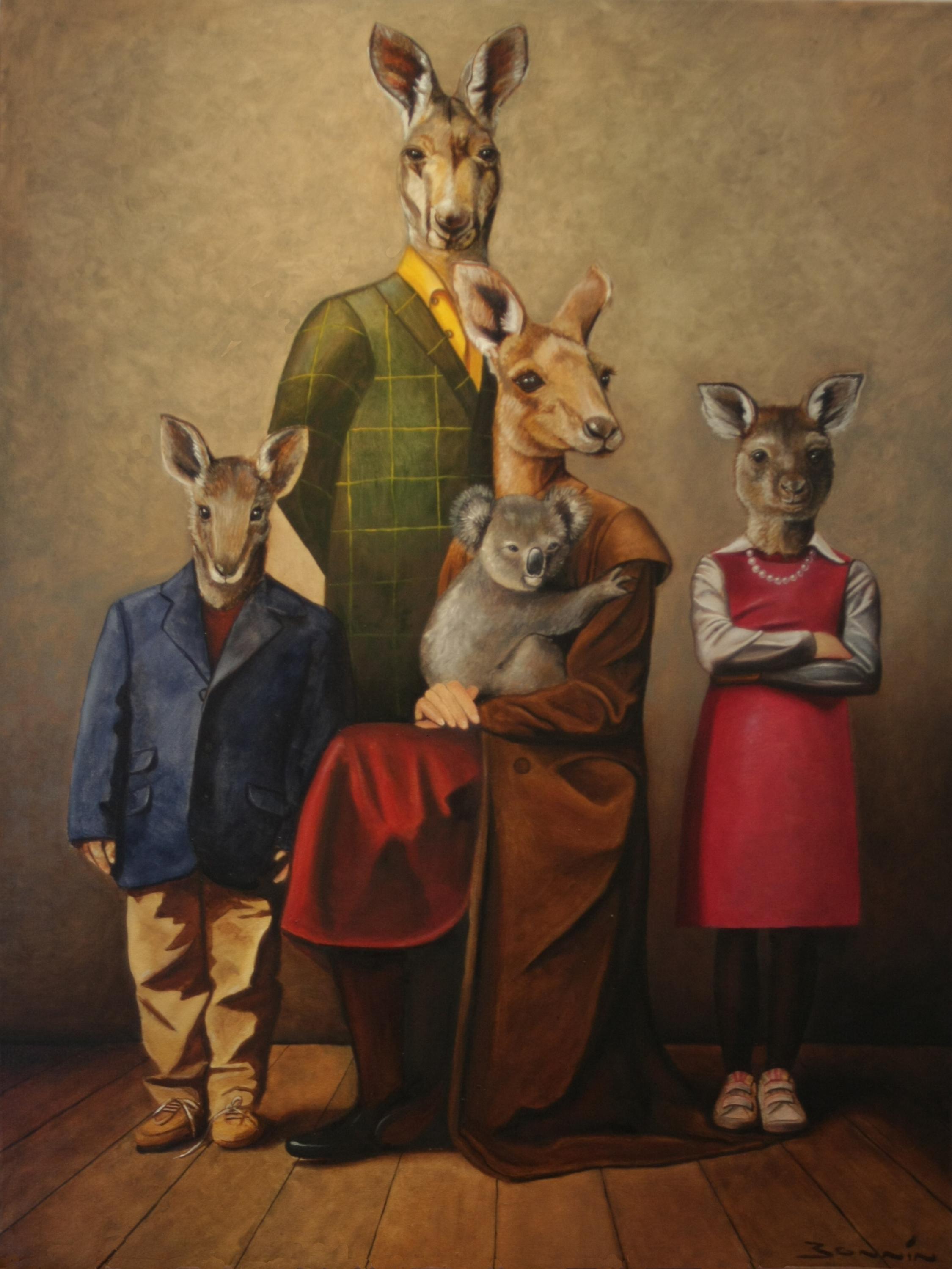 Australian Family Portrait