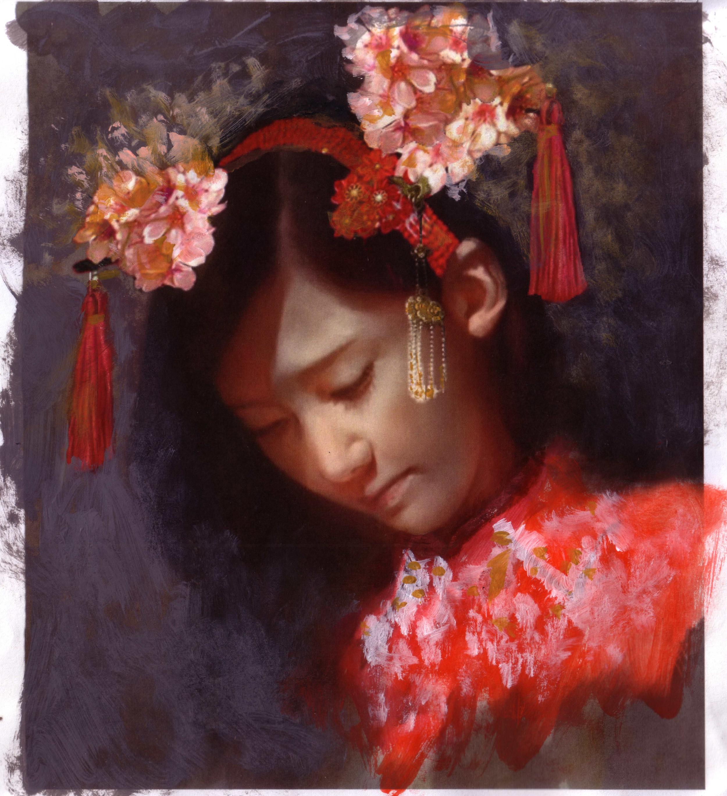 Study for Miss Saigon