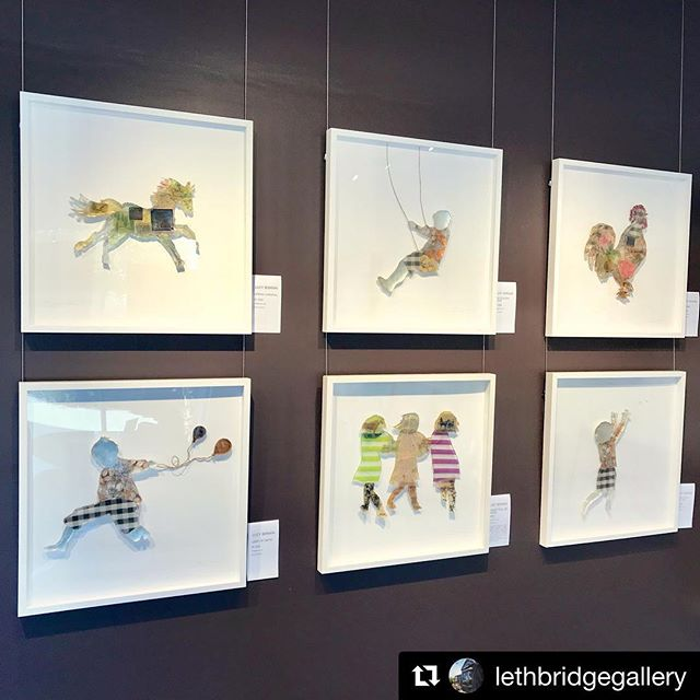 #Repost @lethbridgegallery Brisbane ・・・ Lucy Bonnin is featuring in our Bulimba Gallery this September. Her collage and resins works capture the essence of childhood nostalgia . Drop into the gallery on Wambool Street to see these unique artworks on display . . @bonninart #art #fineart #contemporaryart #artgallery #gallerywall #gallery #collage #collageart #resin #resinart #brisbane #bulimba #bulimbabusiness #oxfordstreet