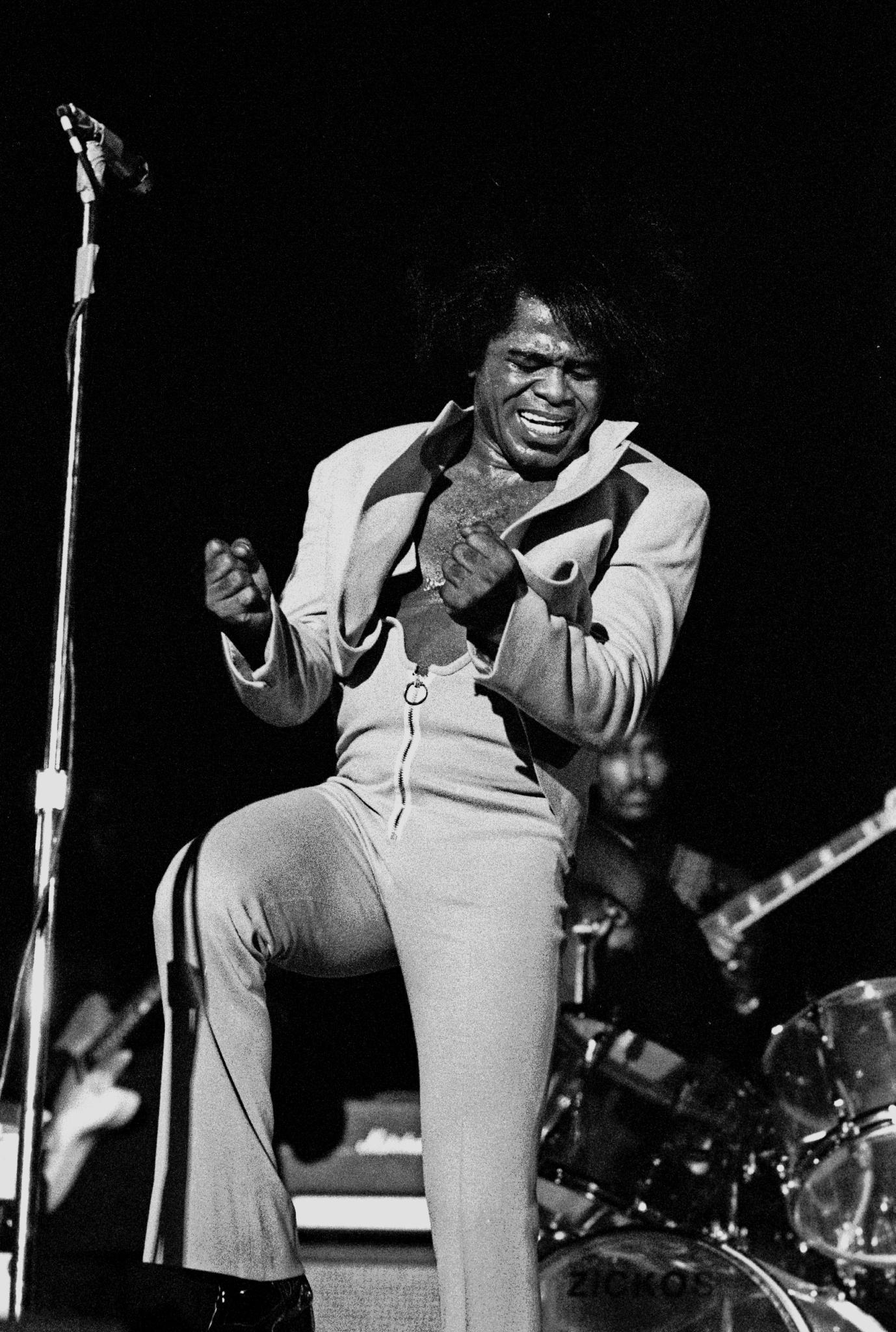 James Brown, Hamburg, 1973.