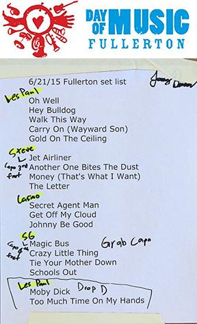Day Of Music - Fullerton 6/21/15