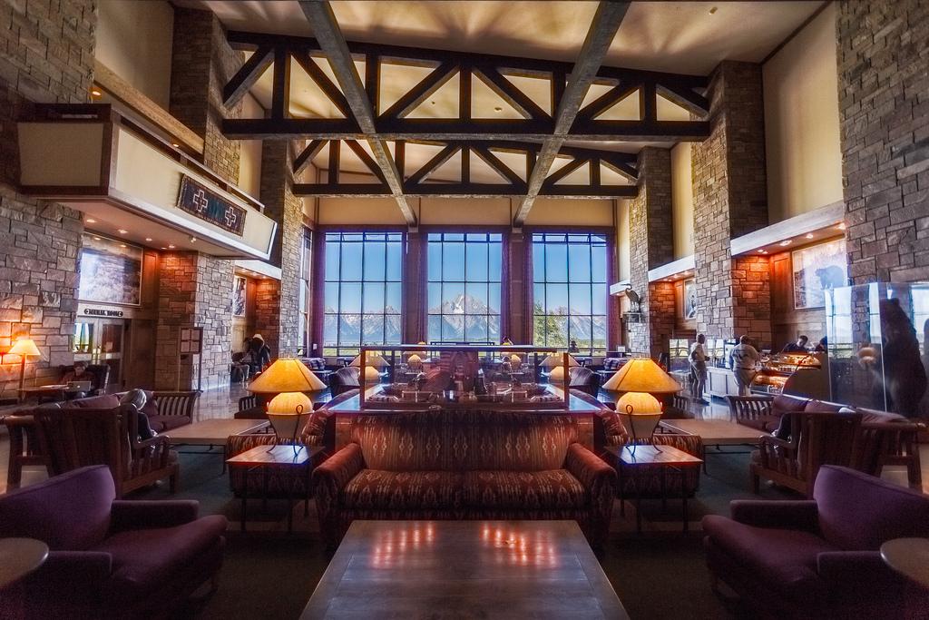 Wedding Venues in Wyoming Jackson Lake Lodge
