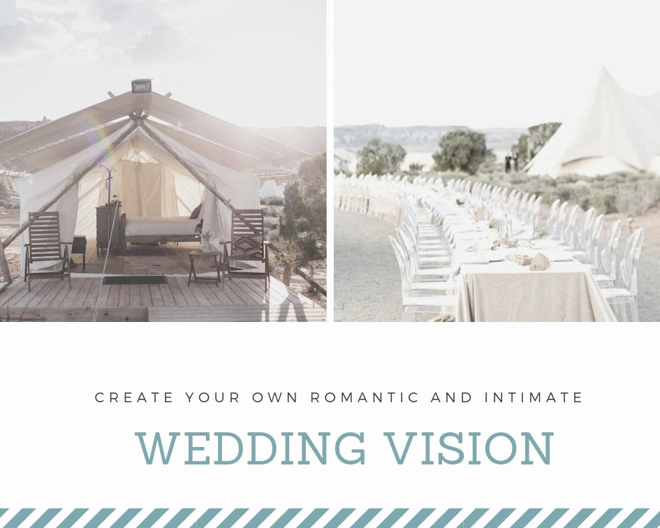 UNDER CANVAS IN WEDDING VENUES UTAH