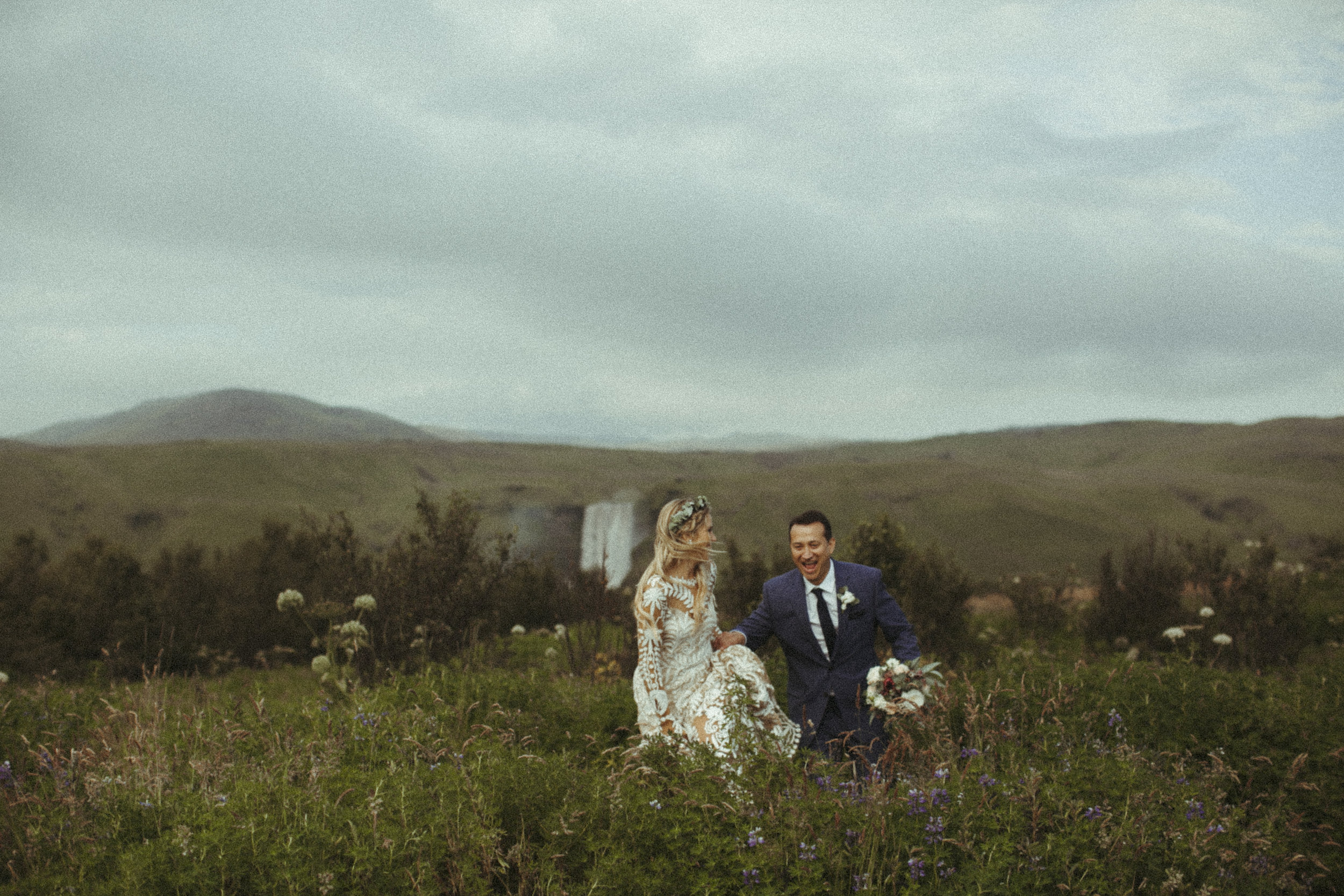 Annie + Mike's Adventure wedding in Iceland - It rained every single day we were there except for their wedding day, and we took full advantage of it and explored it all!
