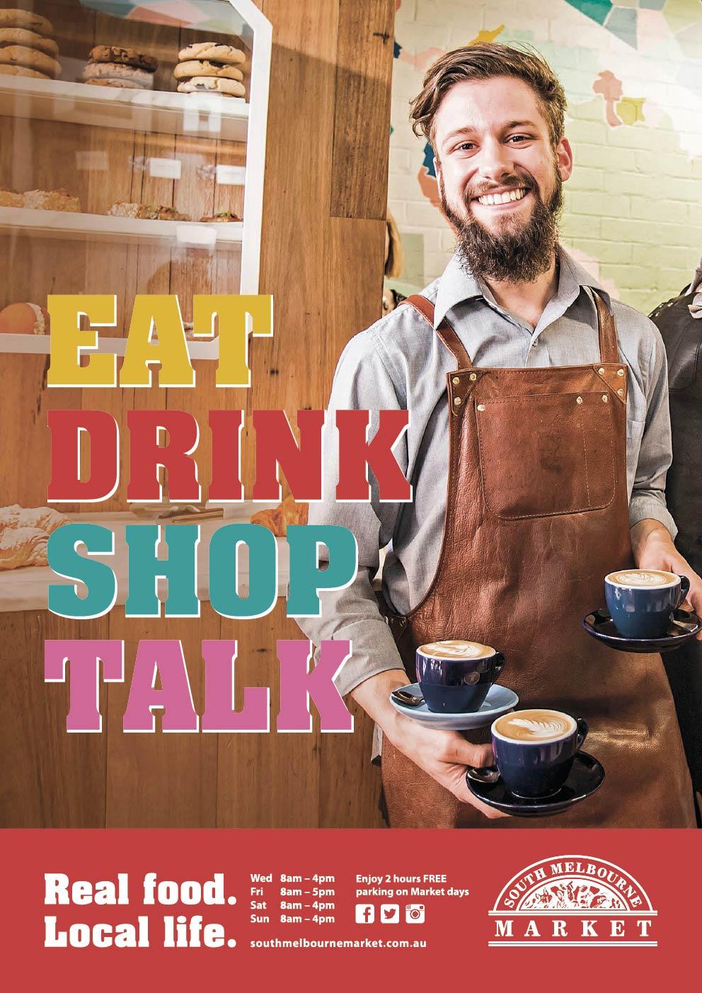 Eat Drink Talk Shop
