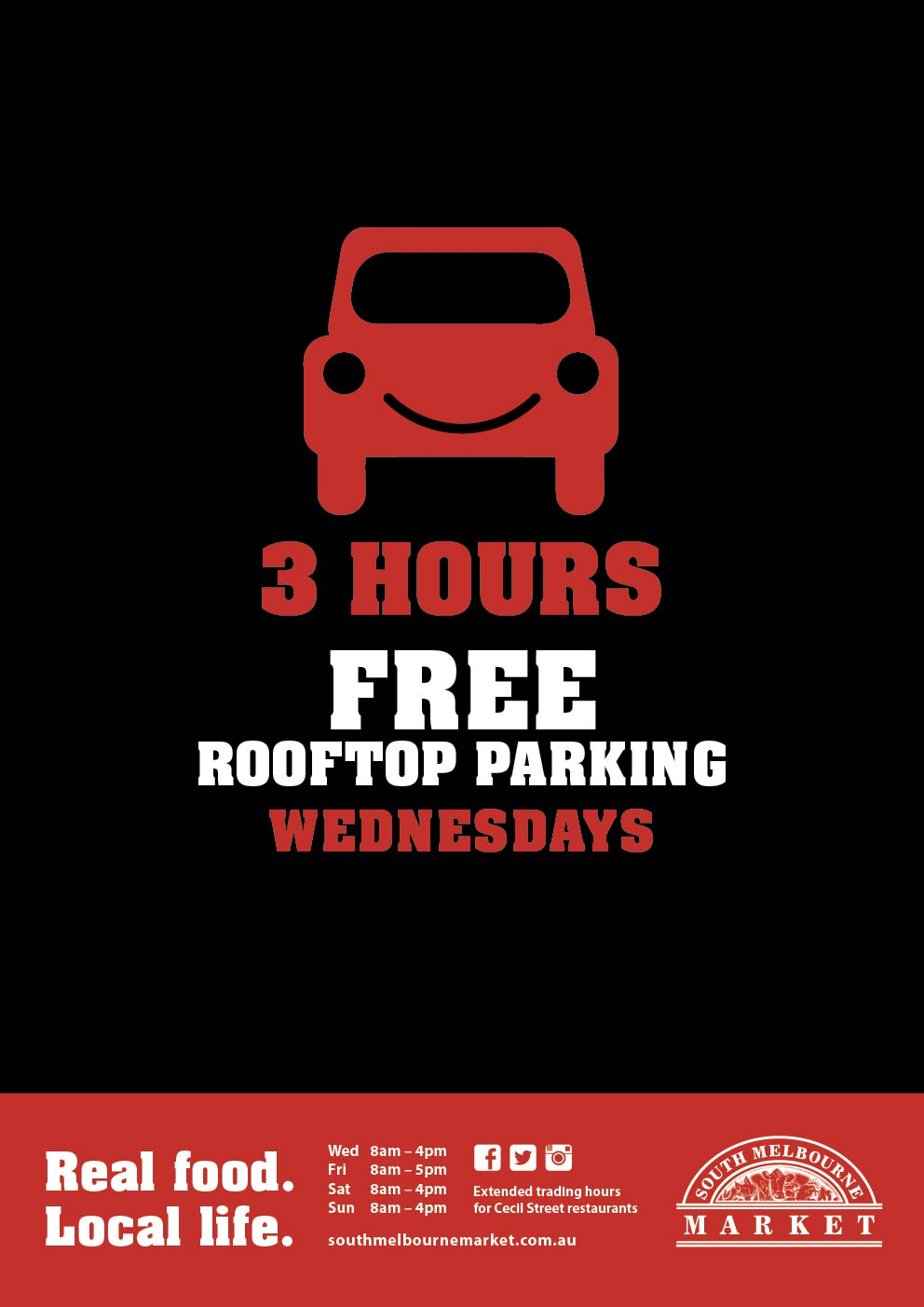 FREE Rooftop Parking