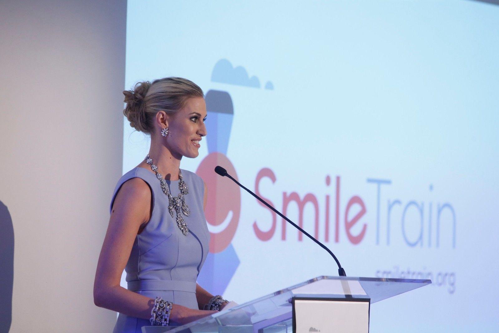 kristen-speaking-smile-train
