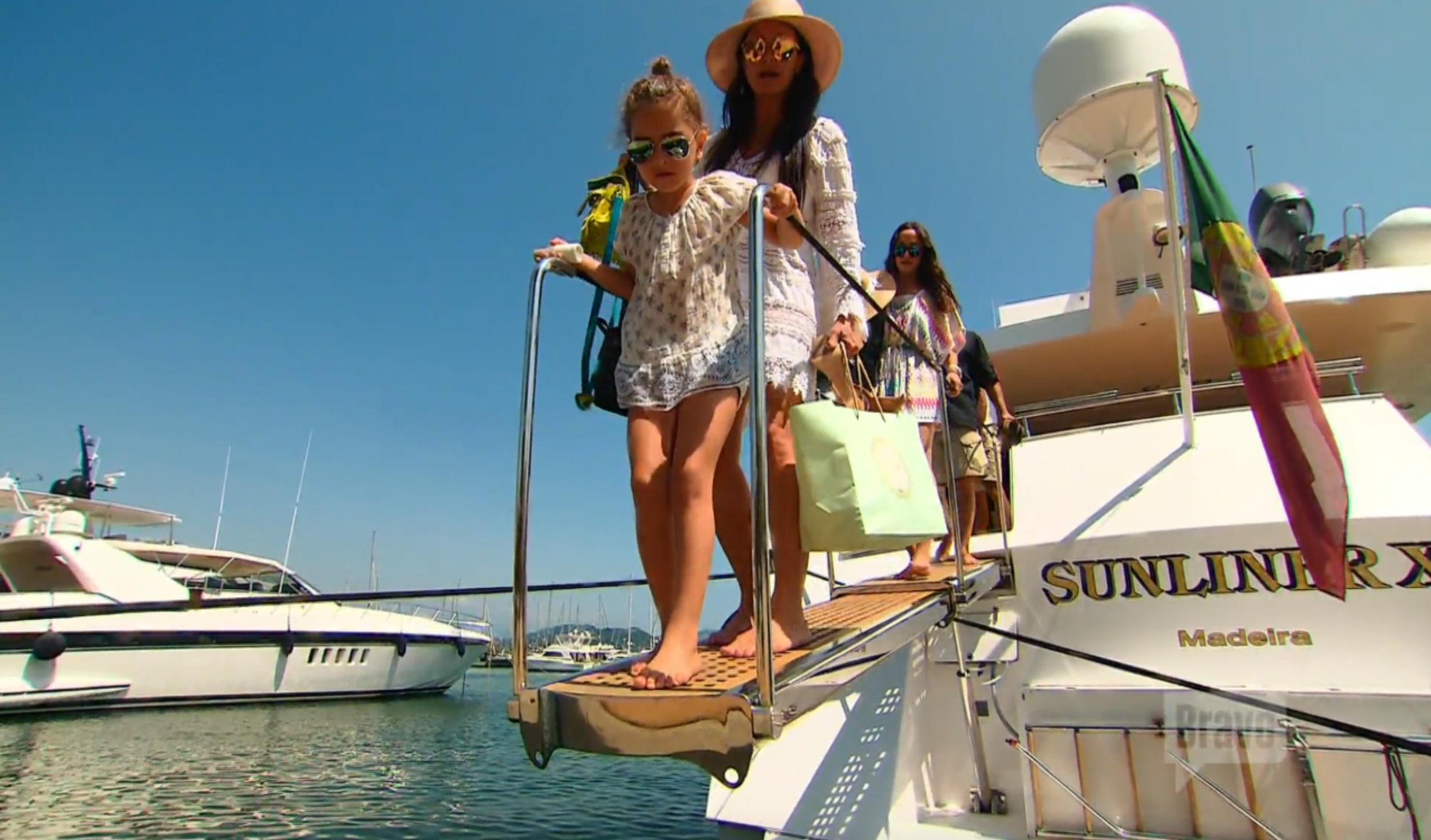 kyle-richards-portia-yacht