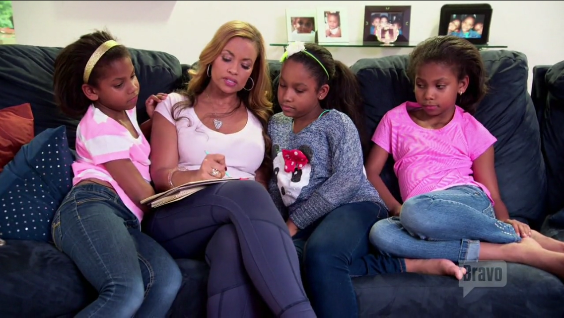 gizelle-bryant-daughters-writing-letters