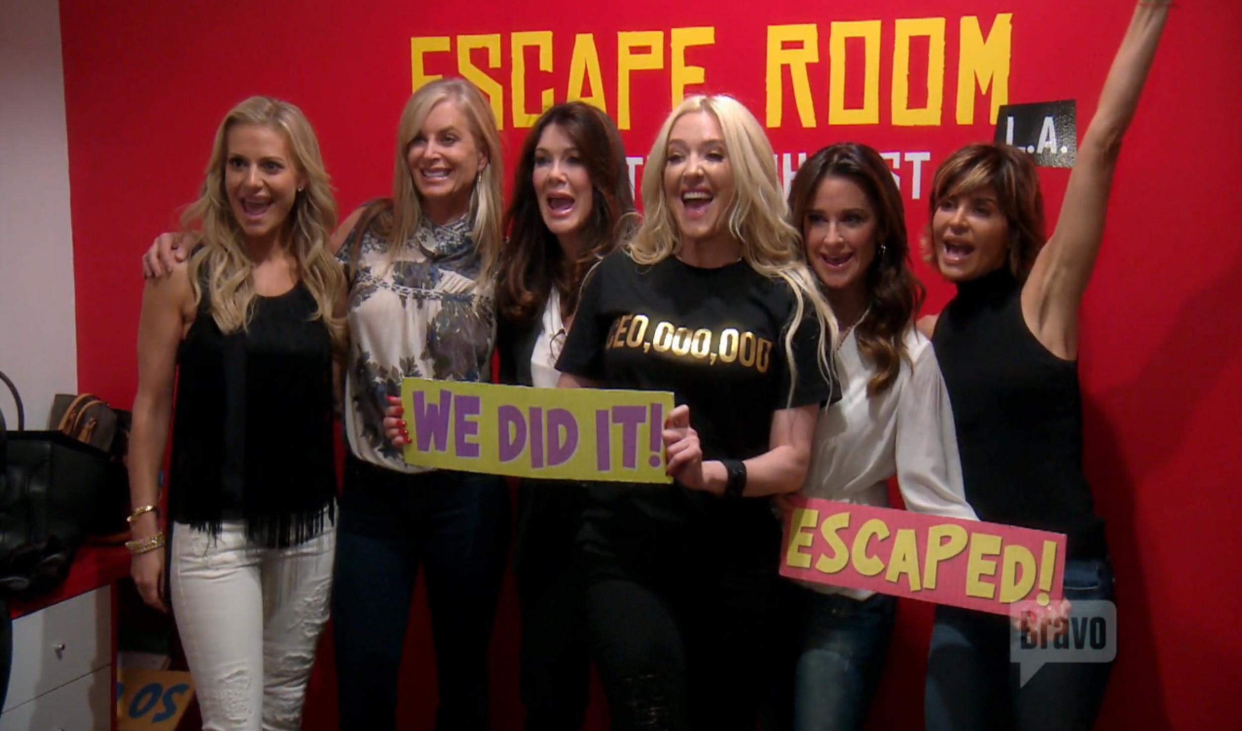 rhobh-escape-room
