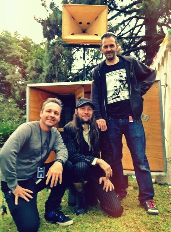 Monkey Marc, Richard Allen, Phil Boutle, DIY Hi Fi Sound System.